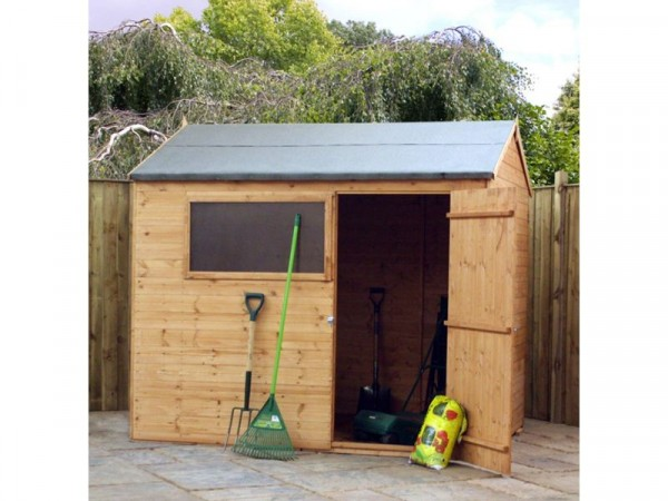 Mercia Shiplap Wooden Shed - 8 x 6ft
