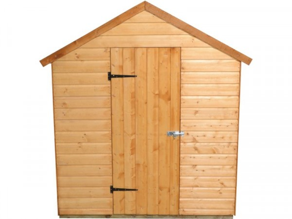 Forest Shiplap Wooden Apex Shed - 8 x 6ft