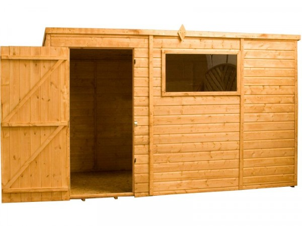 Mercia Shiplap Wooden Garden Shed - 12 x 8ft