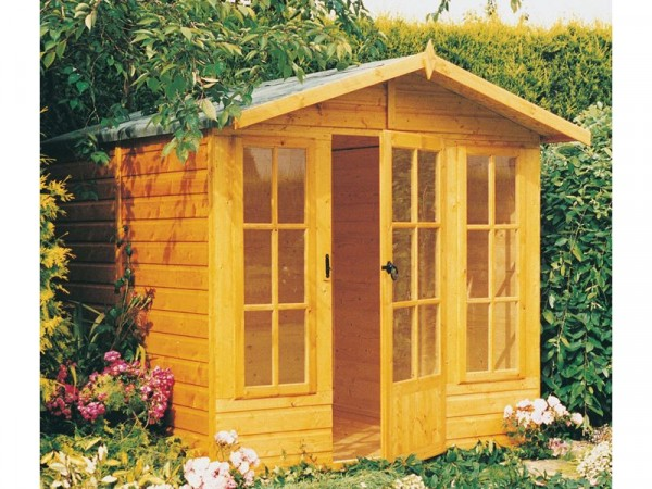 Homewood Chatsworth Wooden Summerhouse 7 x 7ft
