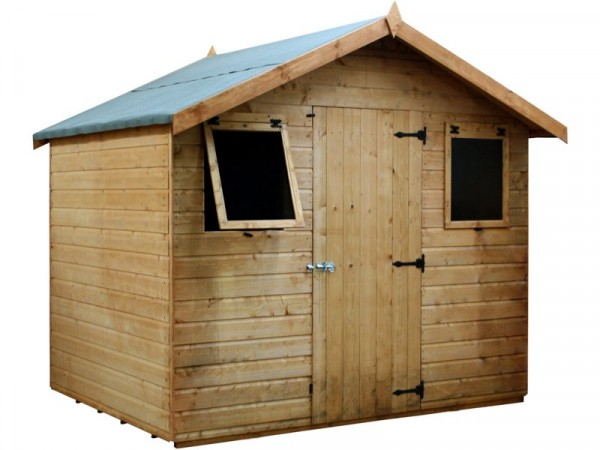 Mercia Premium Shiplap Wooden Shed - 6 x 8ft