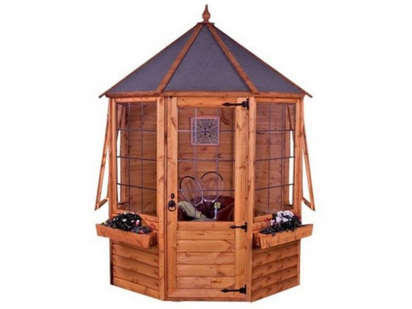 Mercia Octagonal Wooden Summer House 6 x 6ft