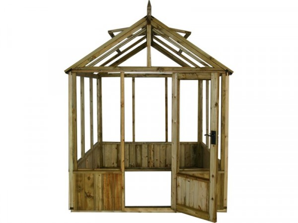 6X6 GREENHOUSE PRESSURE TREATED