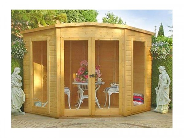 Homewood Barclay Wooden Summerhouse 7 x 7ft