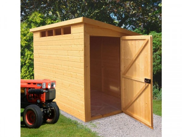 Homewood Wooden 8 x 6ft Shiplap Security Shed