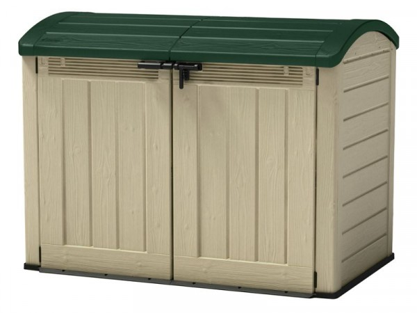Keter Store It Out Ultra Garden and Bike Store - Beige/Green