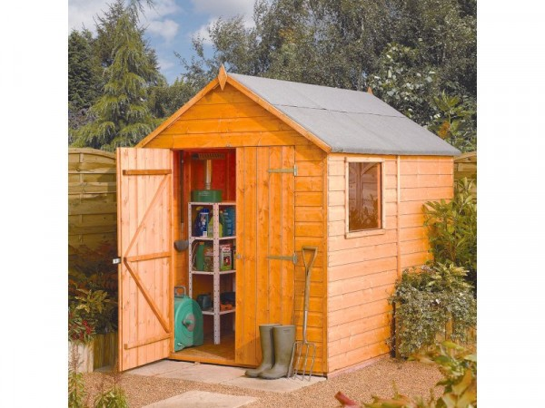 Rowlinson Wooden Modular Shed - 8ft x 6ft