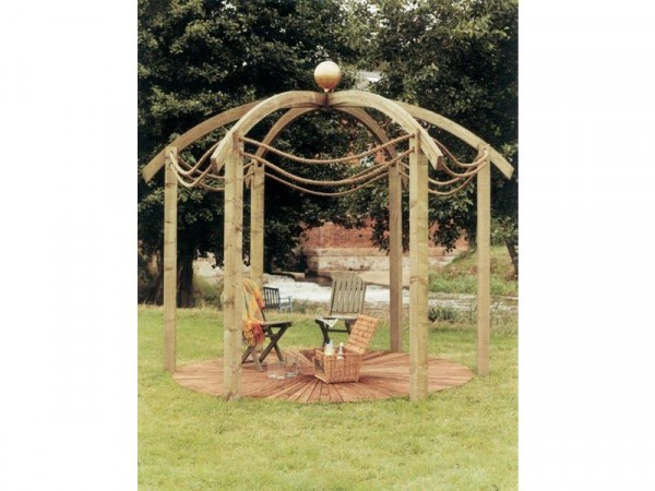 DOMED PERGOLA WITH BASE