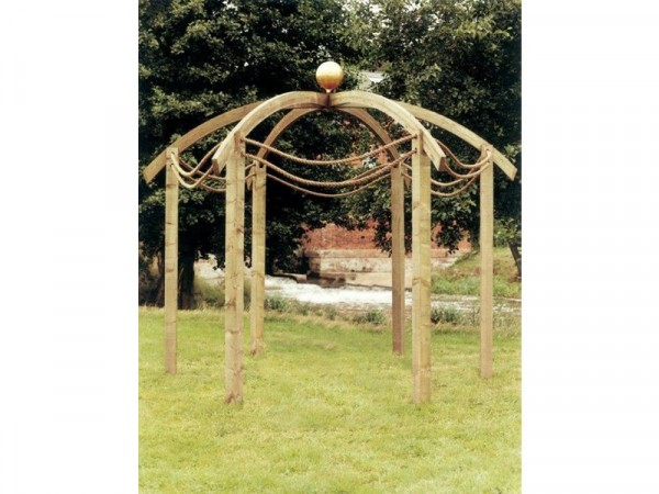 DOMED PERGOLA WITHOUT BASE