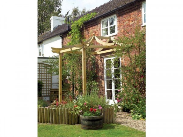 DRAGON PATIO PERGOLA WITH LONG POSTS