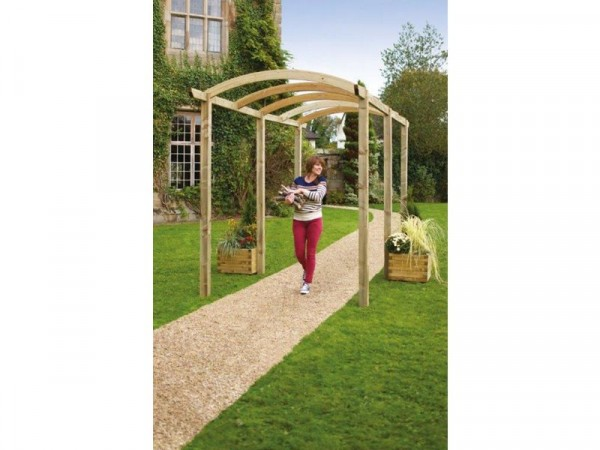 Grange Fencing Colonnade Pergola with Long Posts