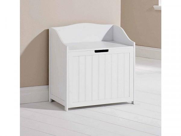 Colonial Storage Hamper - White