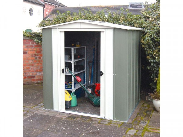 Rowlinson Greenvale Metal Shed - 6 x 5ft