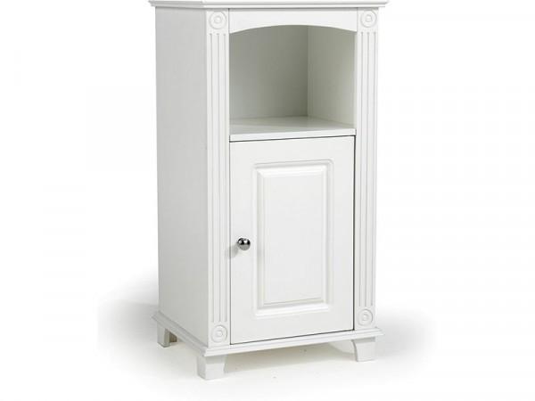 Athens 1 Door Floor Cupboard - White