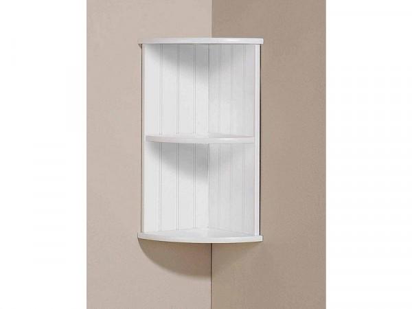Colonial Corner Wall Shelf - White