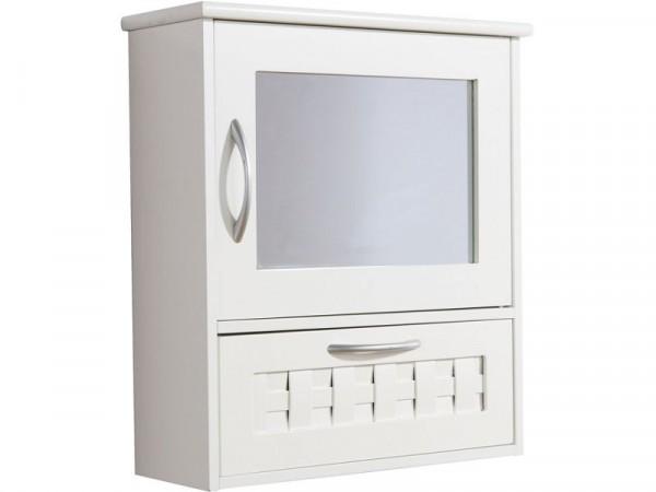 Dorset Mirror Unit - White