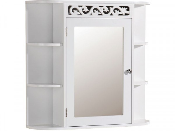 Scroll Over Sink Unit with Mirror