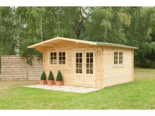 PENNINE LOG CABIN 4.0 X 4.0M  34MM