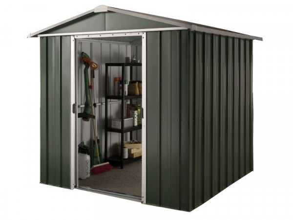 Hercules Deluxe Metal Shed and Floor Frame - 6 x 8ft