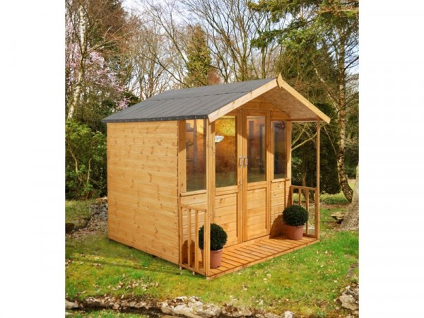 Forest Maplehurst Wooden Summerhouse - 7 x 7ft