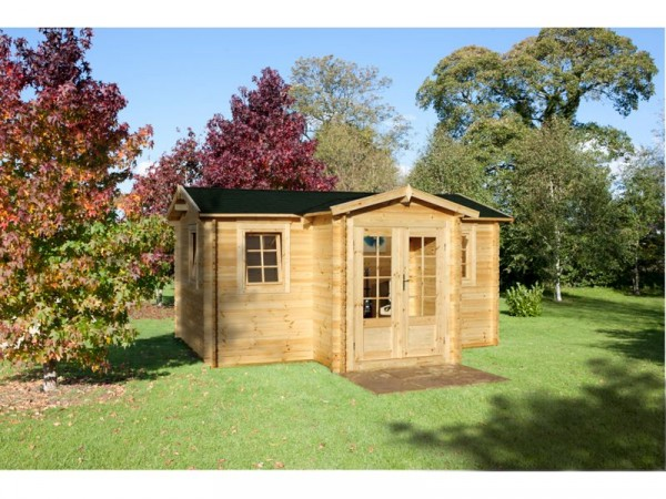 KINGTON LOG CABIN 4.8M X 3.0M