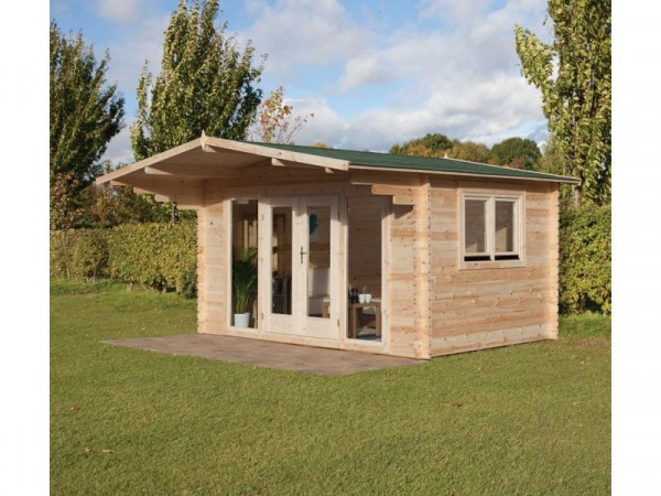ABBERLEY LOG CABIN 4.0M X 3.0M