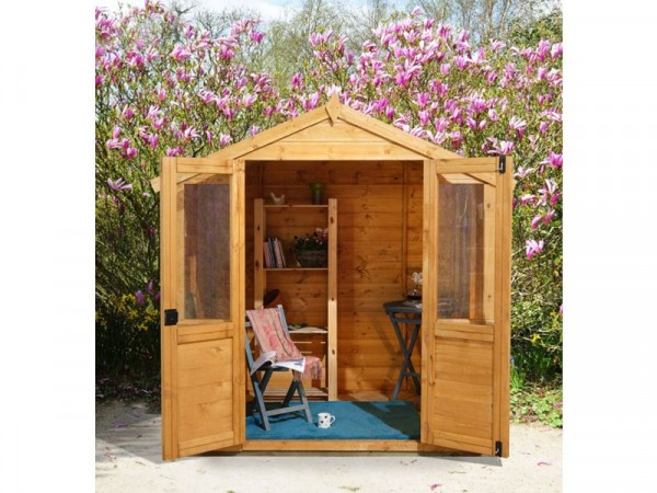 Forest Barleywood Wooden Summerhouse - 7 x 5ft