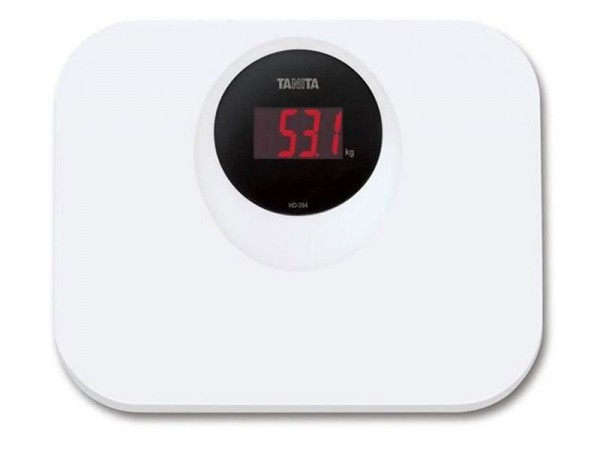 TANITA COMPACT SCALE WITH LED FUNCTION