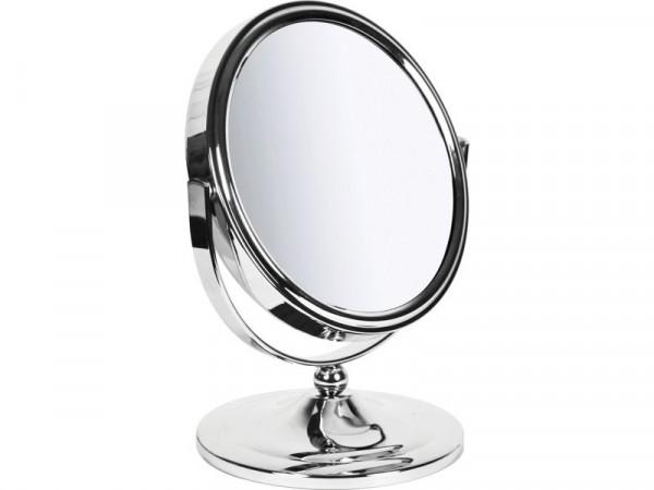 Sabichi New York Round Freestanding Mirror - Chrome