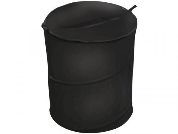 Sabichi Noir Pop Up Laundry Bin - Black