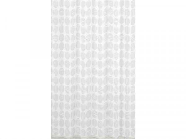 Sabichi Carrara Shower Curtain - White