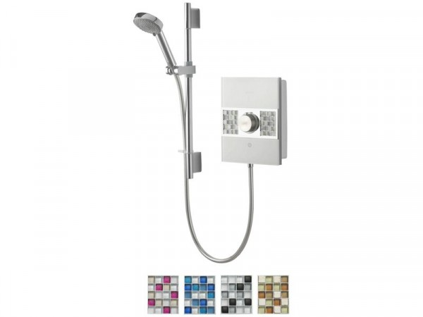 8.5KW WITH ADJUSTABLE HEAD WHITE CHROME