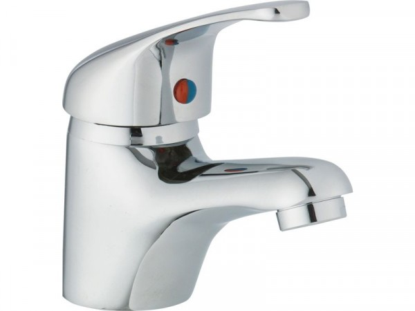 HOME Laurel Basin Mixer Tap - Chrome Plated
