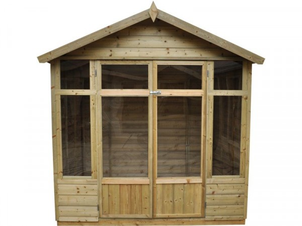 Forest Bloxham Wooden Summerhouse - 7 x 5ft