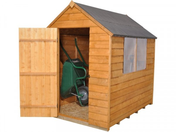 5X7 ESSENTIAL OVERLAP APEX SHED
