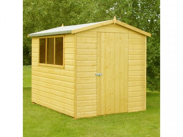 Homewood Lewis Wooden Apex Shed - 8 x 6ft