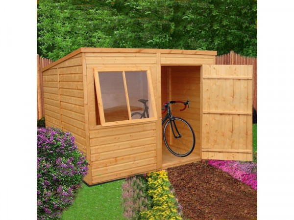 Homewood Pent Wooden Shed - 8 x 6ft