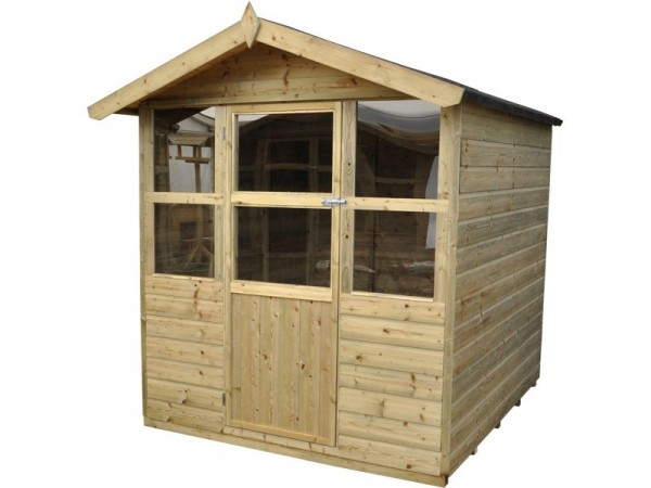 Forest Charlbury Wooden Summerhouse - 6 x 6ft