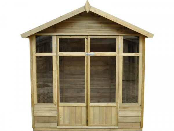 Forest Tetbury Wooden Summerhouse - 5 x 7ft