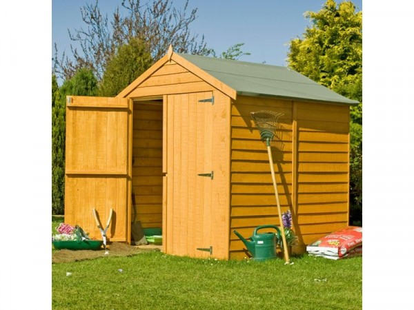 Homewood Wooden 6 x 6ft Overlap Garden Shed