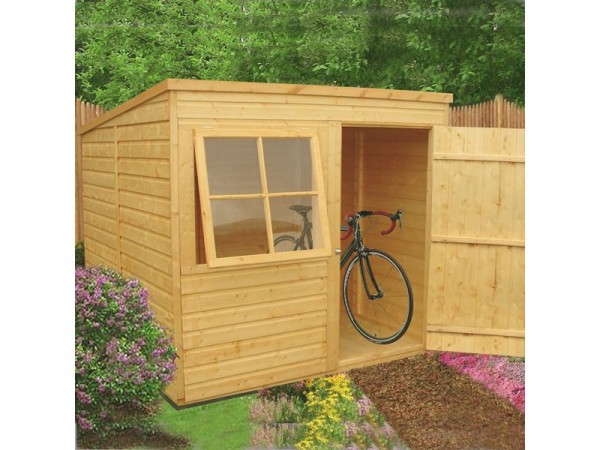 Homewood Pent Wooden Shed - 7 x 7ft