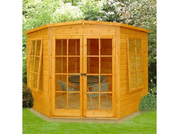 Homewood Hampton Wooden Summerhouse - 7 x 7ft