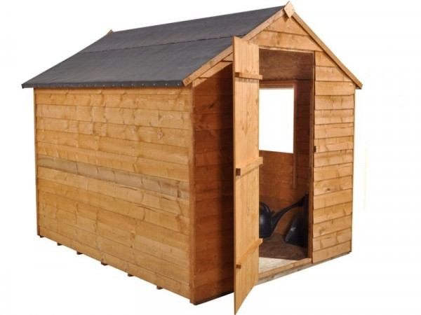 6X8 ESSENTIAL OVERLAP APEX SHED