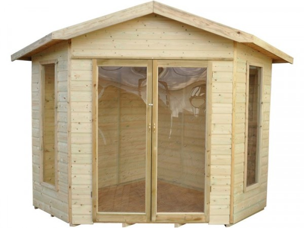 Forest Honeybourne Wooden Summerhouse - 11 x 8ft