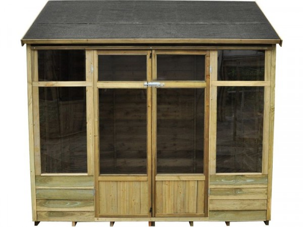 Forest Winchcombe Wooden Summerhouse - 8 x 6ft