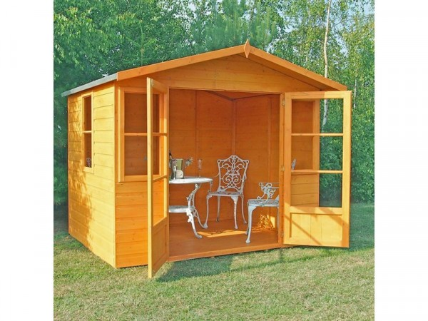 Homewood Milton Wooden Summerhouse - 8 x 6ft