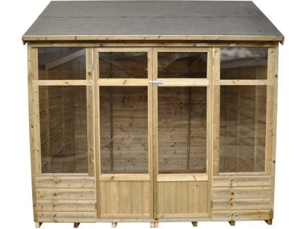 Forest Kempsford Wooden Summerhouse - 8 x 6ft