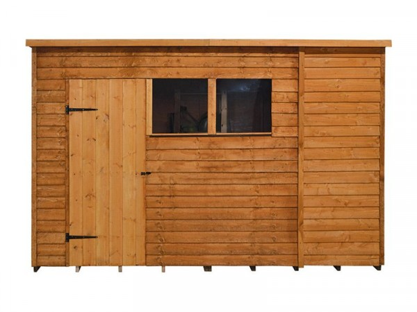 10X6 OVERLAP PENT SHED