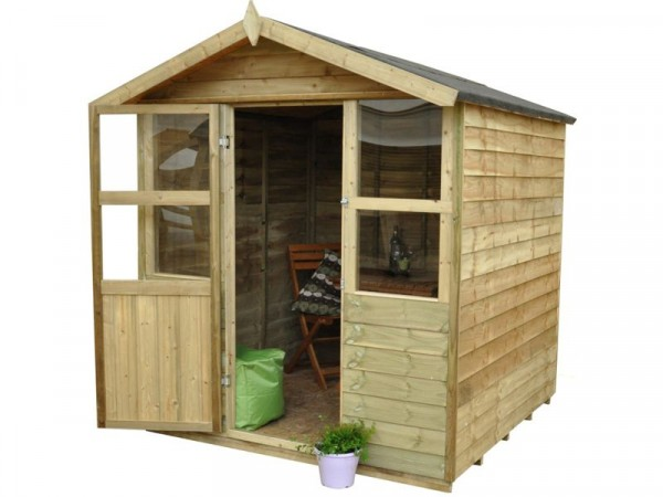 Forest Stroud Wooden Summerhouse - 6 x 6ft