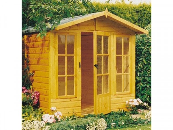 Homewood Chatsworth Wooden Summerhouse - 10 x 7ft